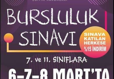 İzmir Bursluluk Sınavı